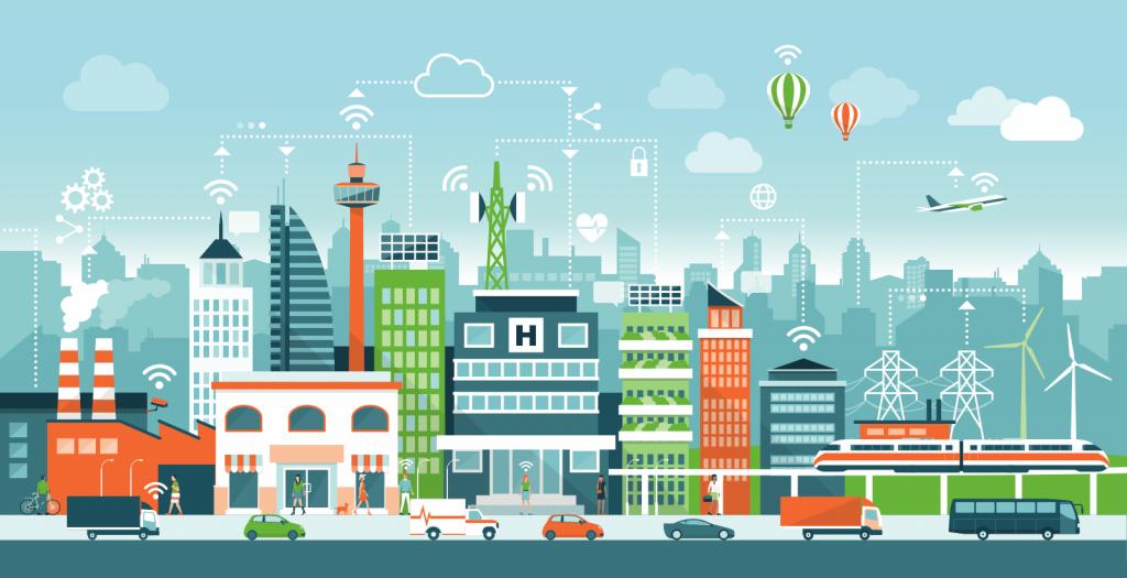 smart city objets connectés IoT linux embarqué